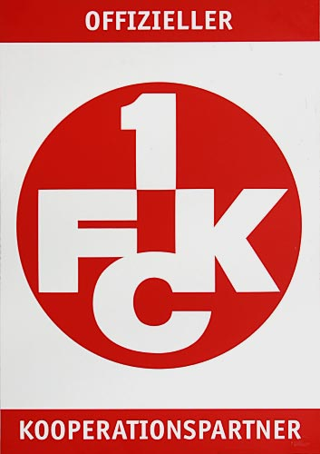 Logo offizieller 1.FCK Kooperationspartner